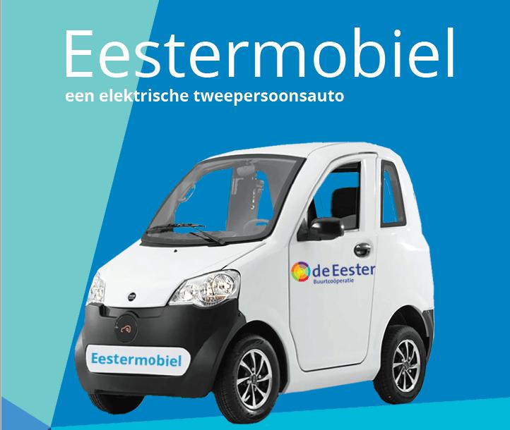 Wij zijn trotse hoofdsponsor van de Eester Mobiel!